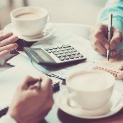 estrutura financeira e contábil escalável