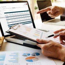 estrutura financeira escalável